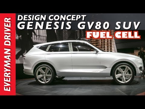 Genesis Concept Suv Fuel Cell On Everyman Driver Youtube