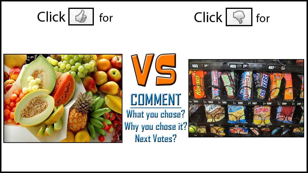 Healthy Food Vs Junk Food Posters