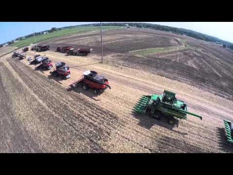 2015 Farm Progress Show-Corn Harvest Demonstrations - Decatur Illinois