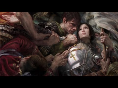 Painting Joan of Arc with Donato Giancola