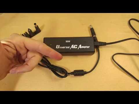 ~Review~ Universal AC Adapter Laptop Power Cord Adapter From Amazon W/7 Tips