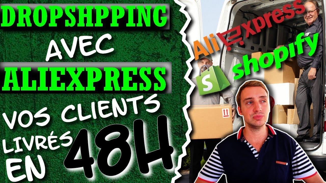 Dropshipping avec AliExpress   Vos clients livrés en 48H !! - YouTube 30129059654