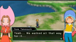 Digimon Adventure -  Garurumon (English) PSP