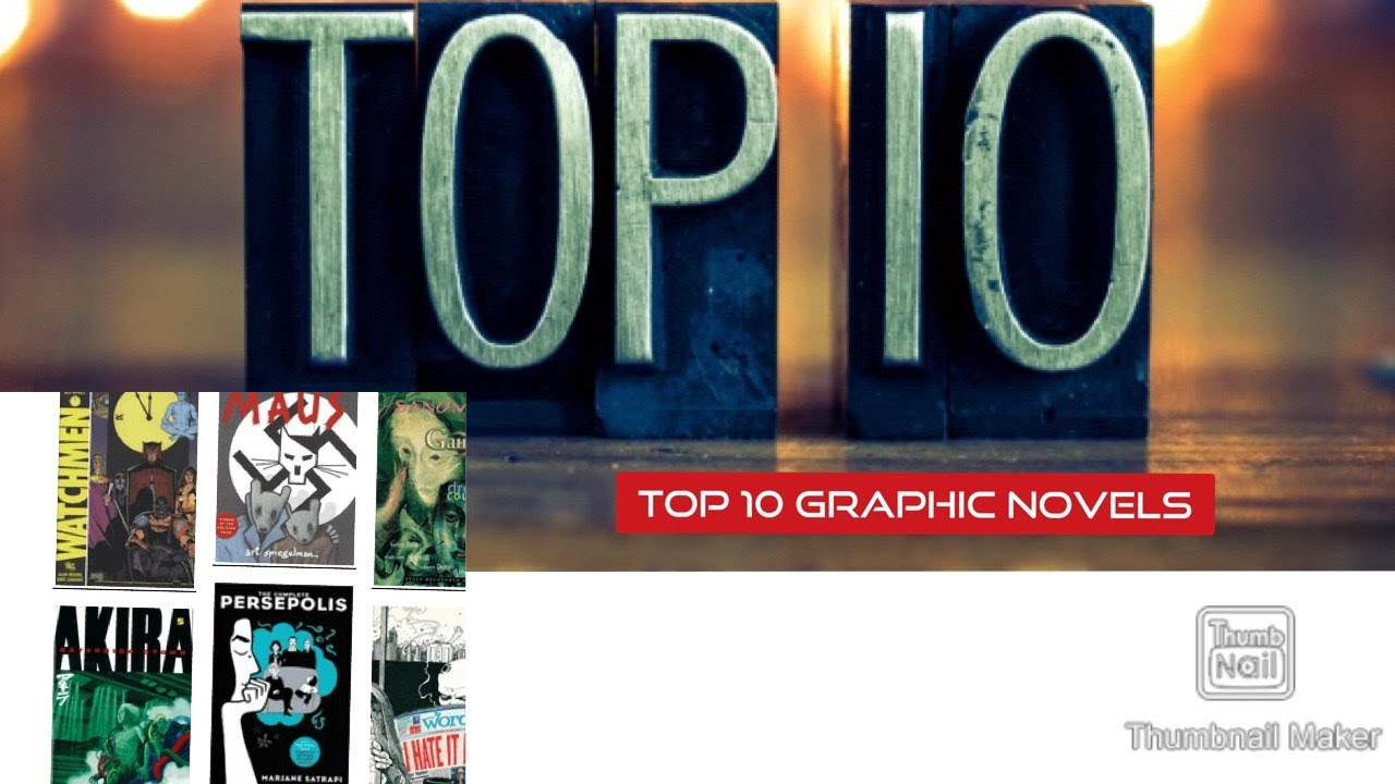Top 10 Recommended Graphic Novels