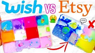 WISH SLIME PALETTES VS ETSY SLIME PALETTES! Which Is Worth It?!?