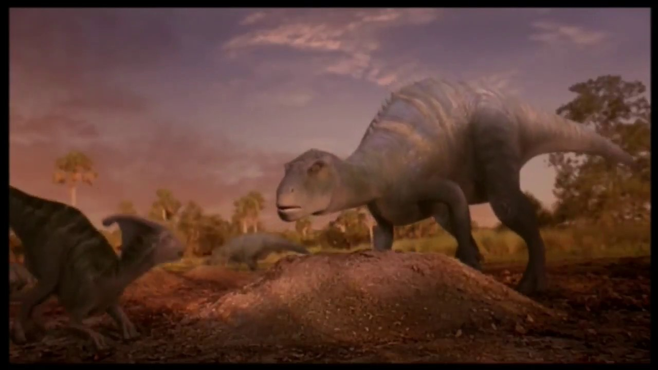 Best Moments Of Parasaurolophus From Disney Dinosaur Youtube