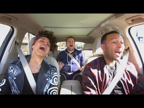 Thumbnail: Apple Music — Carpool Karaoke — Alicia Keys and John Legend Preview