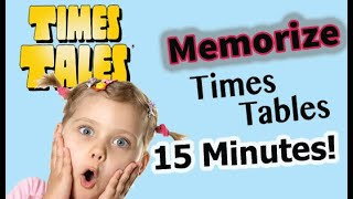 Trick to MEMORIZE the 9s Times Tables in 15 Minutes!
