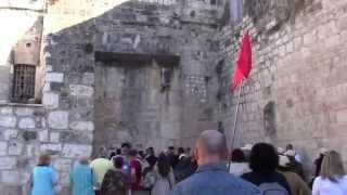 У Храма Рождества Христова в Вифлееме Израиль 2012(, 2014-08-31T14:03:44.000Z)