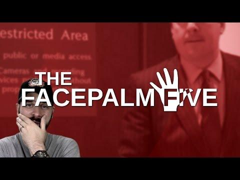 Trump's Russian Dressing - The Facepalm Five: April 3, 2017