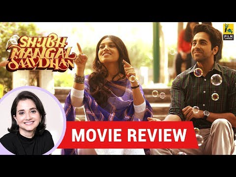 Anupama Chopra's Movie Review of Shubh Mangal Saavdhan