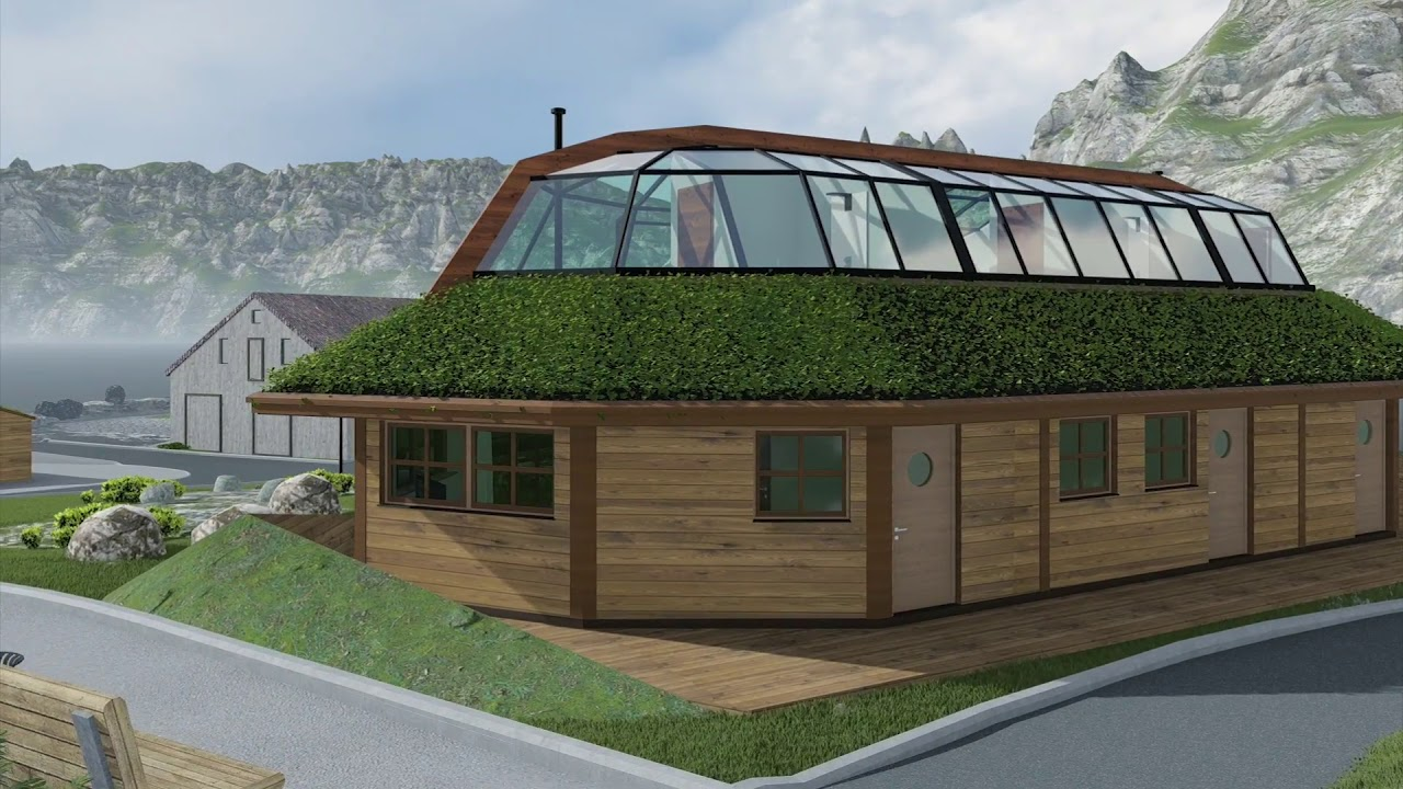 Traditional Sami Architecture In Modern Hotel Design Hammerfest Norway Youtube