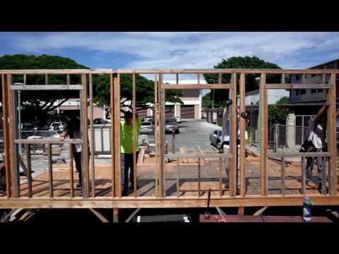 Honolulu Community College Carpentry Technology Program