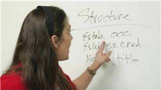 Introduction Speeches : Introduction Speech Structures