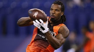 Kevin White (West Virginia, WR) 2015 NFL Combine highlights