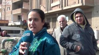 مصر العربية | أهالى عزبة العرب للسيسي:عيالنا ريحتها وحشة من المياه الآمنة