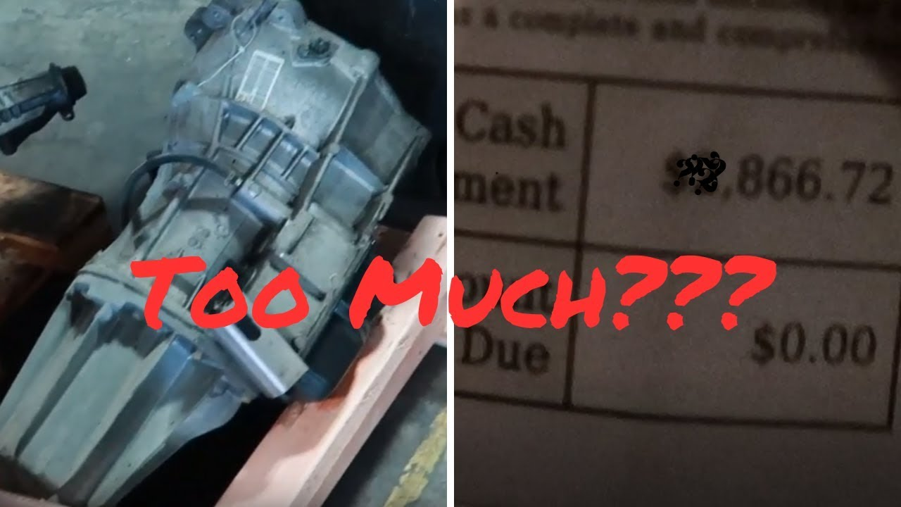 How Much Does A New Transmission Cost >> Took Delivery Of A New Transmission Plus Cost Chrysler 300