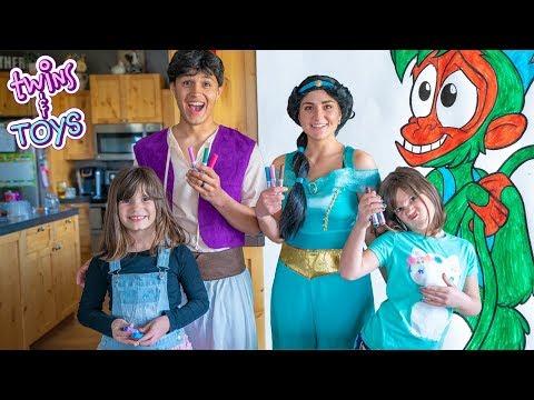 Aladdin and Princess