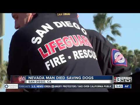 Nevada man dies while saving dogs