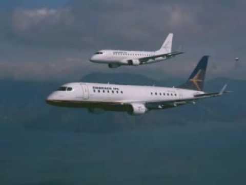 Embraer 190 promotional video