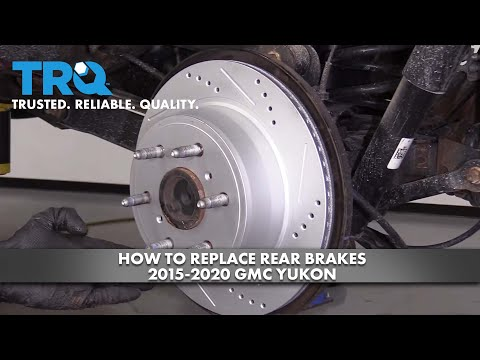 How to Replace Rear Brakes 2015-20 GMC Yukon