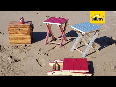 How To Make A Folding Chair Table Out Of Wood