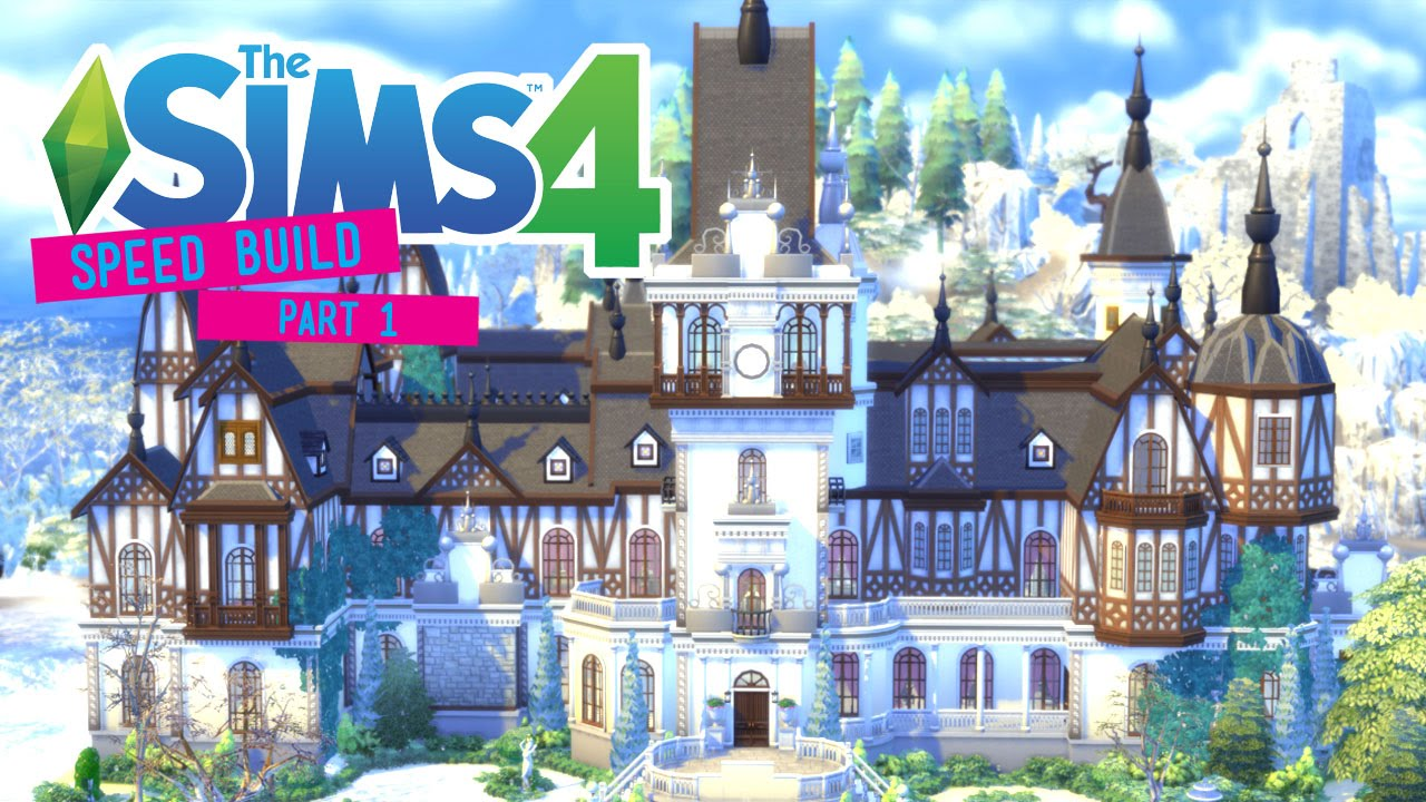 Sims  How To Build A Castle