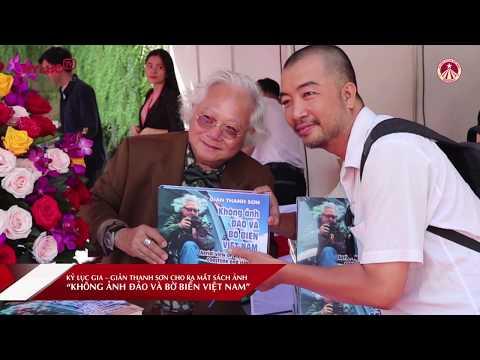 KYLUC.TV: KLG Giản Thanh Sơn triển lãm và ra mắt sách 'Không ảnh đảo và bờ biển Việt Nam'