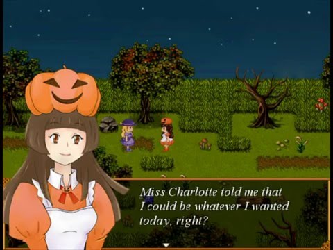 TRICK & TREAT-rpg horror game(part1)full