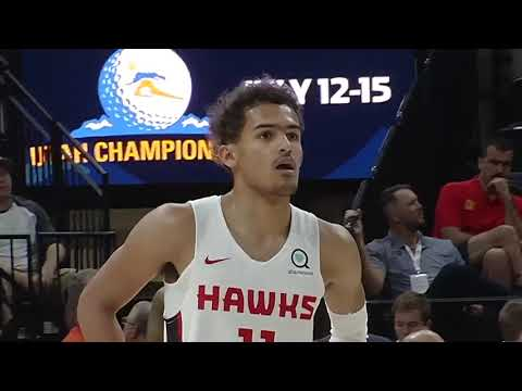 NBA: Summer League Utah:   Atlanta Hawks vs San Antonio Spurs  Jul 3,  2018