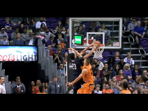 Anthony Davis Dunks Off The Glass Alley-Oop Against Phoenix  | 12.11.16