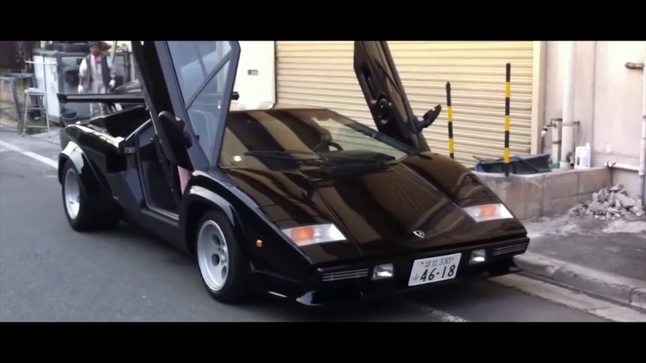 Lamborghini Countach 5000s Crazy Engine Sound Youtube