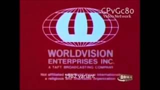 Logo History: Worldvision Enterprises