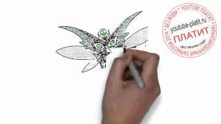 Как нарисовать черную хай стрекозу монстра за 36 секунд(Как нарисовать монстра поэтапно карандашом. Именно этим вопросом задается каждый подросток сталкиваясь..., 2014-07-18T19:38:00.000Z)