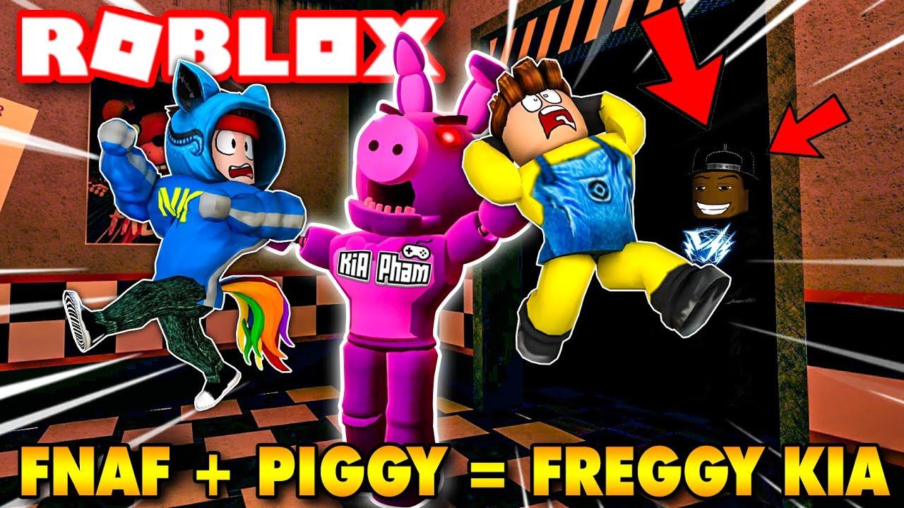 Roblox | KHI FNAF + PIGGY LÀM TEAM LẦY HOANG MANG GẤP ĐÔI - Freggy | KiA Phạm