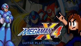 Mega Man X4 Guitar Playthrough (X version) [COMPLETE]