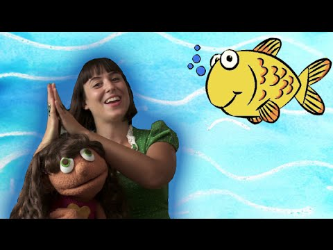 Slippery Fish | Kids Learning Song | Sweetly Spun Music With Peanut