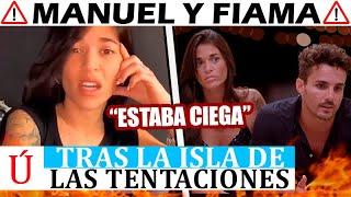 """""""Estaba ciega"""": Fiama aclara su actual relación con Manuel tras La isla de las tentaciones"""