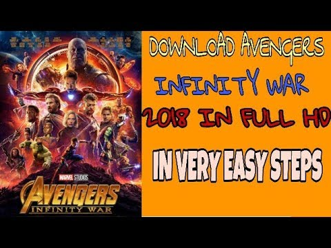 How to download Avengers infinity war 2018 HINDI in FULL HD 720P || Marvel avengers infinity war