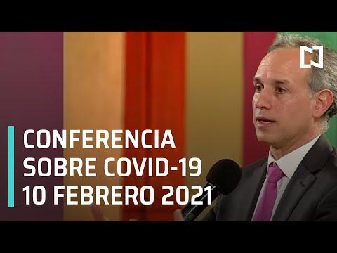 Conferencia Covid-19 en México - 10 febrero 2021