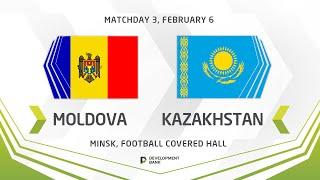 LIVE Development сup 2021 Moldova vs Kazakhstan