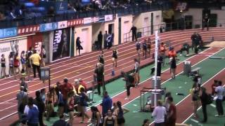 2014 NJ Bergen County Relays Armory Girls Distance Medley  Northern Highlands