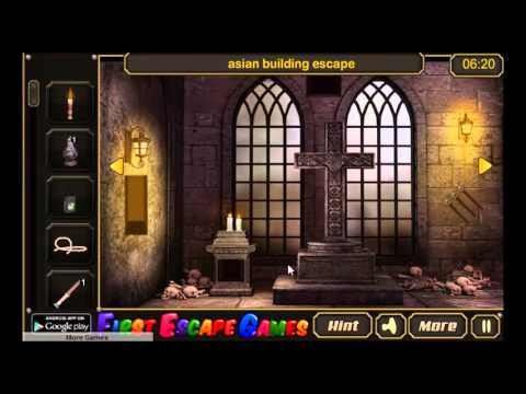 Roman Catholic Church Escape - Walk Through FirstEscapeGames