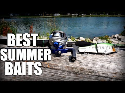 TOP 5 SUMMER BASS FISHING LURES - Shallow Water Tips