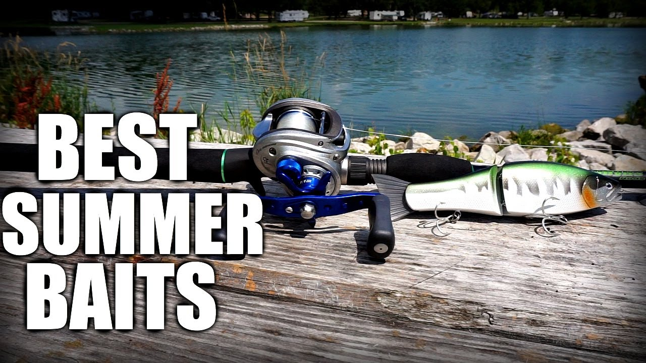 Top 5 summer bass fishing lures shallow water tips youtube for Best lures for summer bass fishing