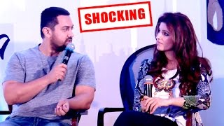 Twinkle Khanna Makes FUN of Aamir Khan In Public