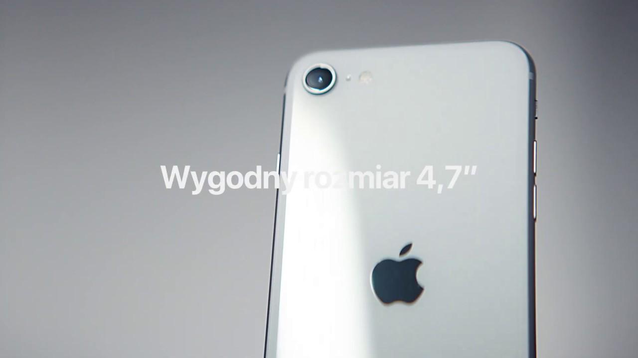 Wybierz iPhone SE w Play | Wielka moc w niewielkiej cenie