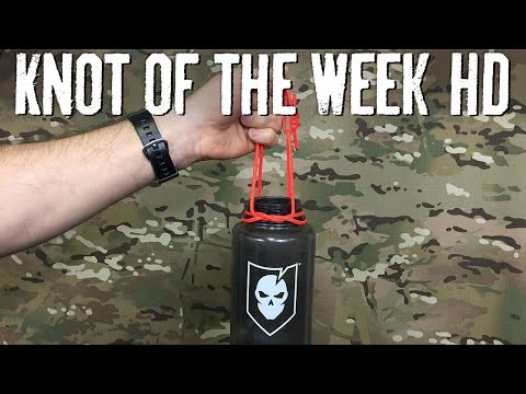 Carry Your Drinks Using a Bottle Sling ITS Knot of the Week HD