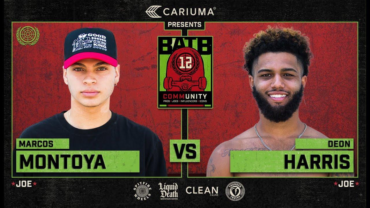BATB 12: Marcos Montoya Vs. Deon Harris - Round 1