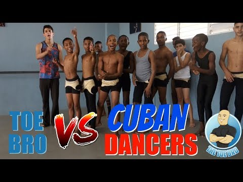 HOW STRONG ARE DANCERS FEET??? TOEBRO IN CUBA!!!